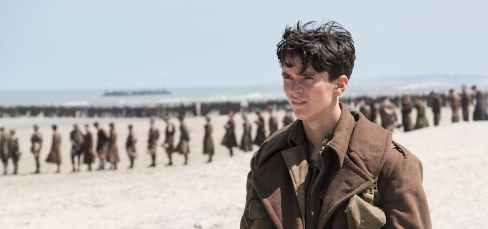 Winner of both Best Sound Mixing and Best Sound Editing, Dunkirk.