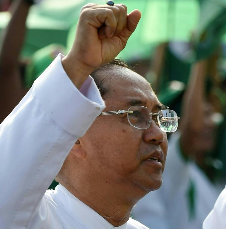Myanmar's military have nominated Myint Swe as their vice presidential nominee