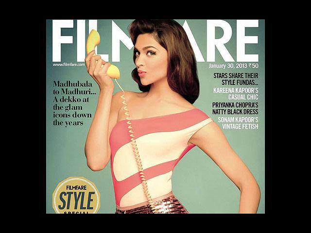 <b>2) Deepika Padukone for Filmfare, January</b><br>We are transported into the '50s with this spunky cover by Filmfare for its January issue. Deepika pouts perfectly in a Shivan and Narresh maillot and Surily Goel hot pants. And talking about oomph, Dippy has oodles of it.
