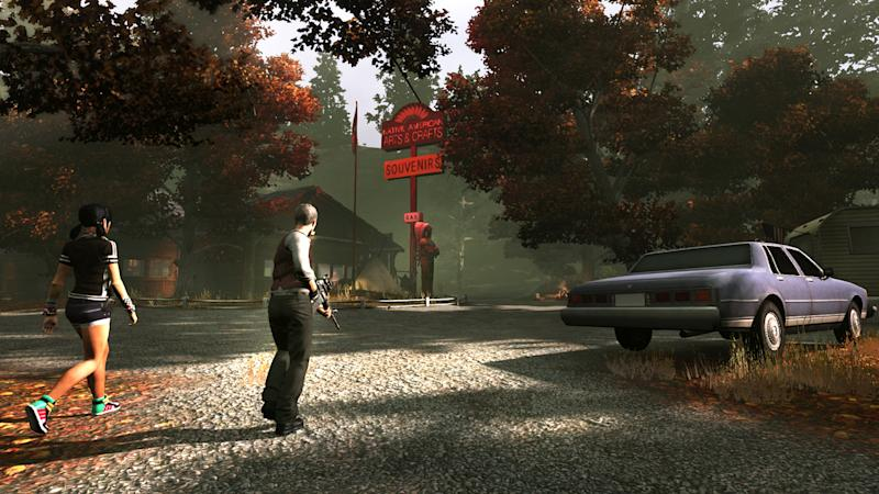 "This video game image released by Electronic Arts shows a scene from ""The Secret World.""  With ""The Secret World"" developer Funcom has a created a mythical virtual earth populated with haunted houses, secret societies, vampire cults and zombie invasions. (AP Photo/Electronic Arts)"