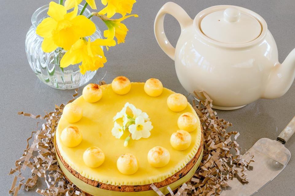 Simnel cake (Andrew Bowden-Smith)