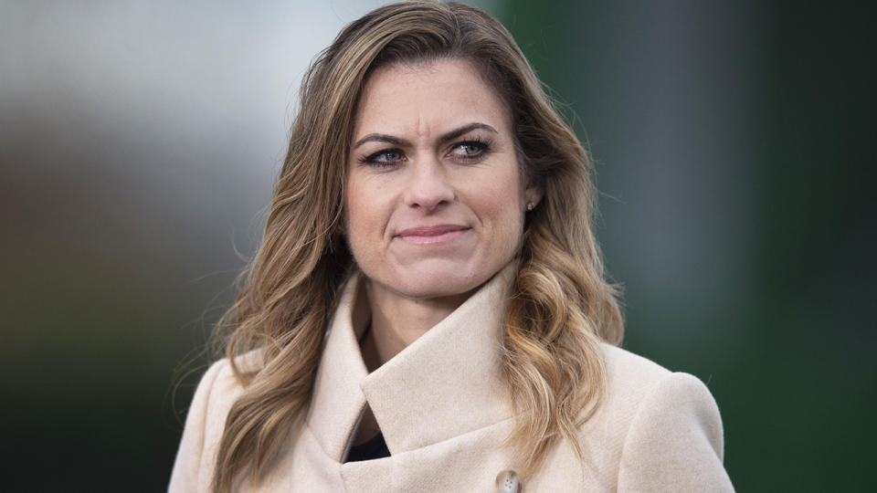 Premier League commentator Karen Carney was singled out by Leeds United on social media, sparking backlash against the club. (Photo by Joe Prior/Visionhaus)