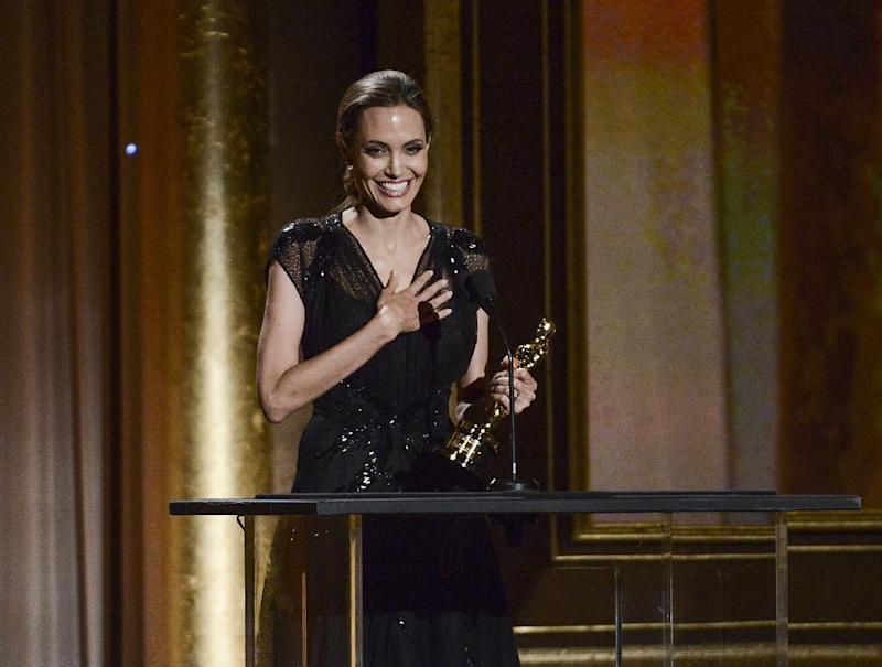 Angelina Jolie at Governors Awards