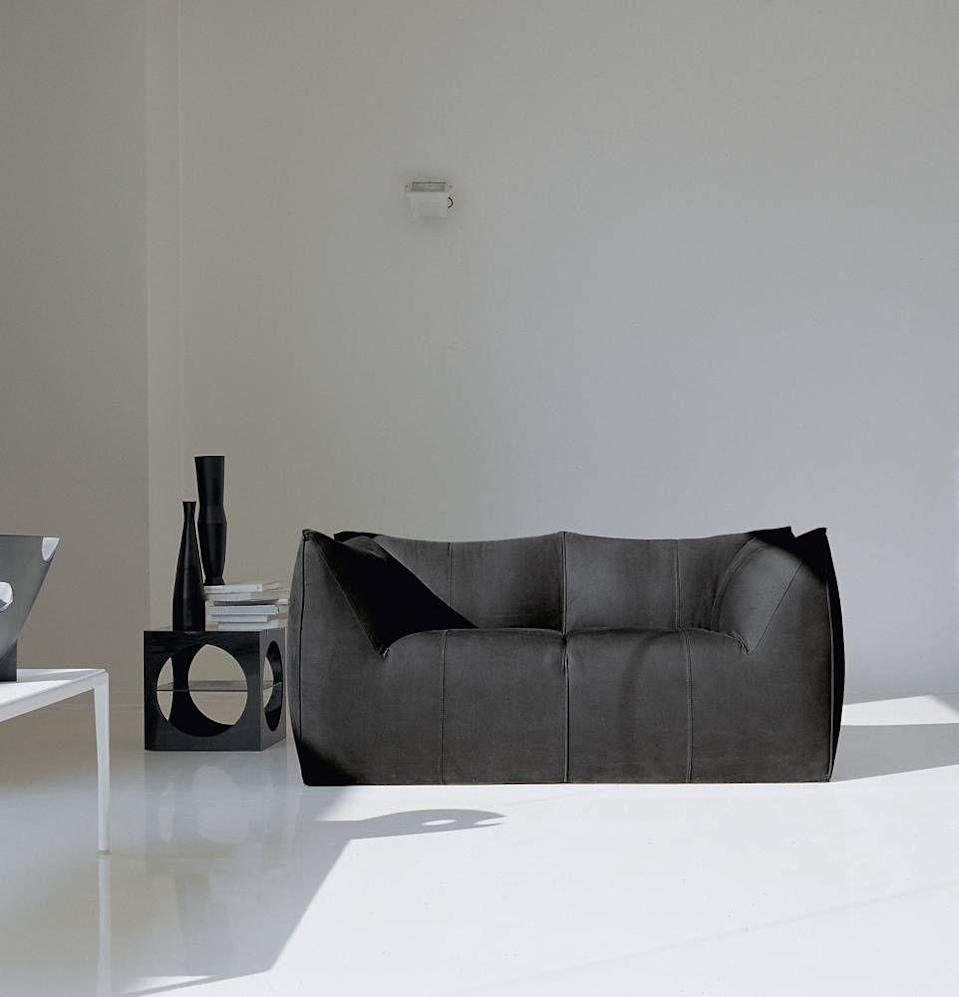 """<p>Clearly, Bellini knows how to design a timeless—and covetable—sofa. The primary appeal of the <a href=""""https://www.bebitalia.com/en/sofa-le-bambole-07"""" rel=""""nofollow noopener"""" target=""""_blank"""" data-ylk=""""slk:Le Bambole"""" class=""""link rapid-noclick-resp"""">Le Bambole</a> (the 1979 winner of the prestigious Compasso d'Oro industrial design award), is the apparent lack of a support structure. The soft blending of form and fabric is what makes this throwback icon still relevant these many years later.</p>"""