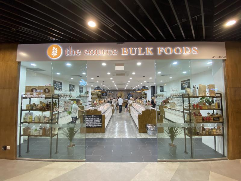 The Source Bulk Foods. (PHOTO: Great World)