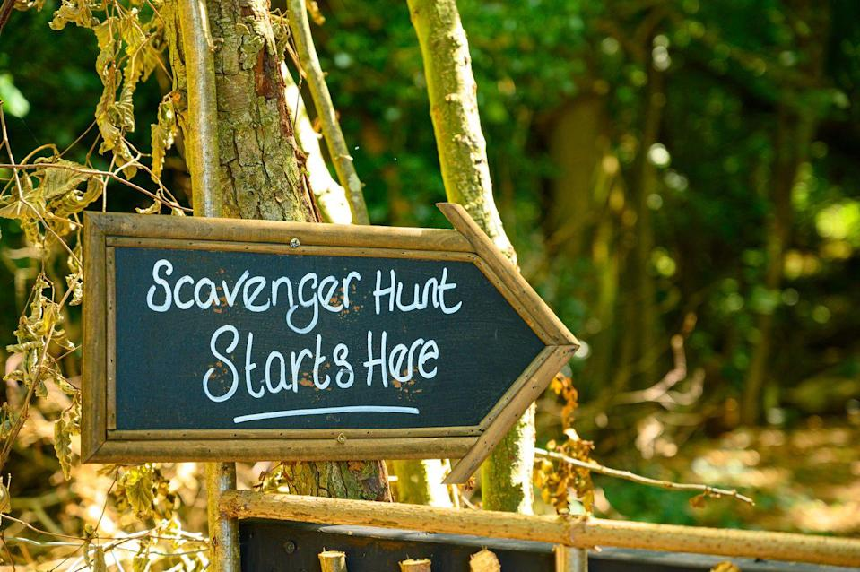<p>Scavenger hunts can be fun for all ages, and are easy to adapt to the environment, whether you host them in a local park, your backyard, or on a city block. They're especially great for getting kids out of the house and moving (while using their brains, too!).</p>