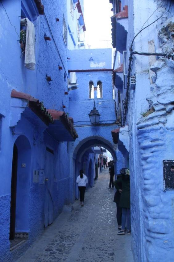 Chefchaouen is known for the striking, blue-washed buildings of its old town (Nick Redmayne)