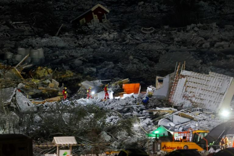 Three people remain missing after a landslide in the Norwegian village of Ask