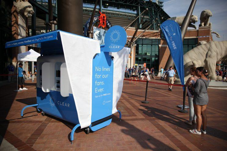 Detroit Tigers fans get introduced to CLEAR at Comerica Park (Photo: CLEAR)