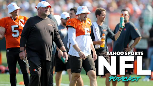 Head coach Freddie Kitchens and quarterback Baker Mayfield hope to lead the Cleveland Browns to their first winning season in over a decade. (Photo by Frank Jansky/Icon Sportswire via Getty Images)