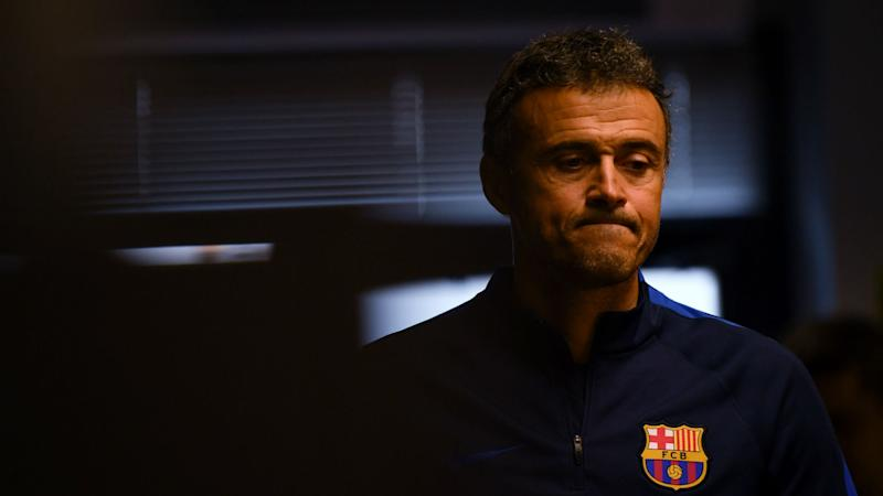 Luis Enrique compares Barcelona's Juventus mauling to poor PSG performance