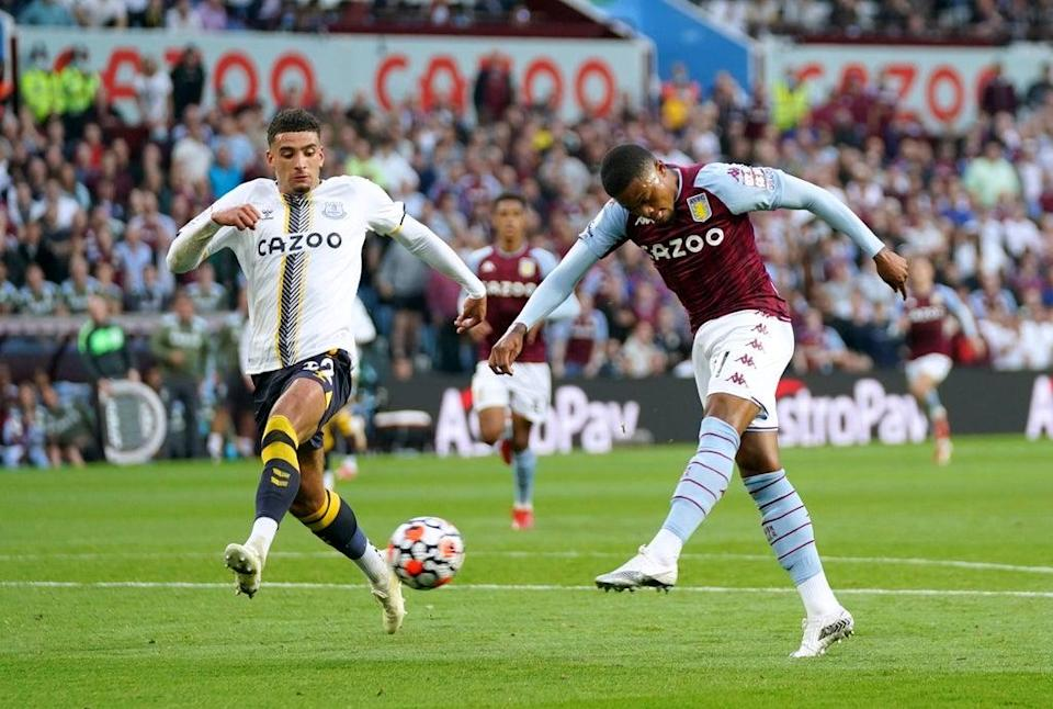 Aston Villa's Leon Bailey added a quickfire third for the hosts (Tim Goode/PA) (PA Wire)