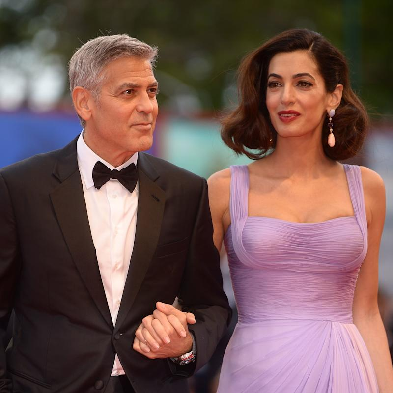 Amal And George Clooney Celebrate His Birthday With Dinner