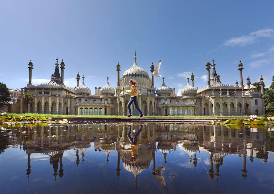 <p>One of Brighton's most instantly recognisable sights, thanks to domes and minarets, the Indian-inspired Royal Pavilion was built for King George IV as a royal residence by the sea.</p><p>It's now a museum, with spectacularly decorated rooms that you can explore, but it's the beautiful organic gardens that keep us coming back. </p><p>Filled with fragrant flowers, the neat lawns and pretty lake are the perfect place to relax, as well as snapping some pics in front of the impressive domed roof.</p>