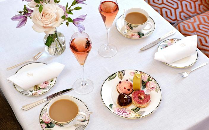 Afternoon tea from Brown's - Ming Tang Evans
