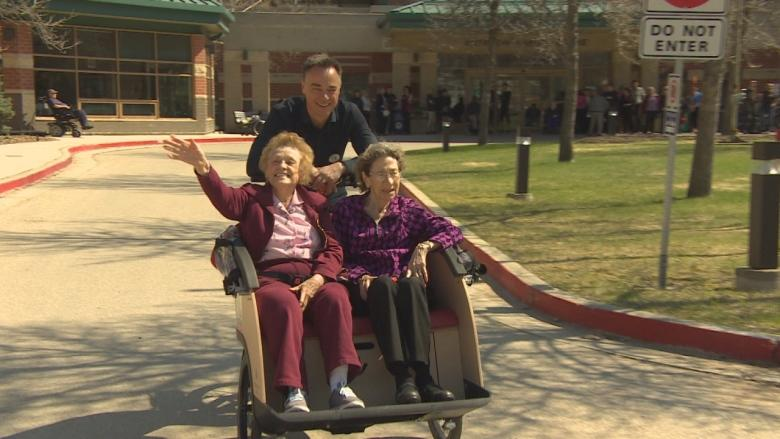 'I felt that sense of freedom': Special trikes give mobility-challenged a ride outside