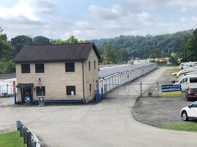 Compass Self Storage has acquired a new self storage center located outside of Pittsburgh, PA.