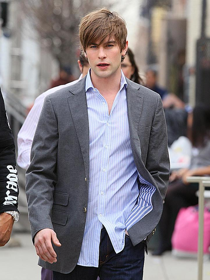 """Several outlets reported that """"Gossip Girl"""" hunk Chace Crawford is no longer in the running for """"Captain America."""" Their source? Crawford himself, on Twitter... or so they thought. Did an imposter hoodwink fans of the hooded superhero? Check out <a href=""""http://www.gossipcop.com/fake-chace-crawford-tricks-outlets-on-captain-america/"""">Gossip Cop</a> for the Tweet truth. Ahmad Elatab, Saleem Elatab/<a href=""""http://www.splashnewsonline.com"""" target=""""new"""">Splash News</a> - March 28, 2009"""