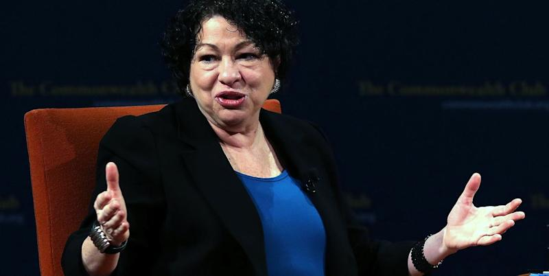 Sotomayor Ignores Reason for Rise in Stay Applications: Attacks on Trump