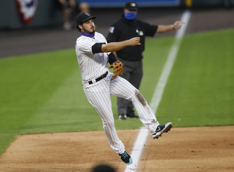 Freeland throws 6 innings of 2-hit ball, Rox beat Padres 6-1