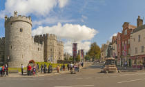 "<p>Home to the history-making royal wedding, Windsor is a honey trap for tourists. Royal fans can take a tour of Windsor Castle and book a night's stay at <a href=""https://www.dorchestercollection.com/en/ascot/coworth-park/"" rel=""nofollow noopener"" target=""_blank"" data-ylk=""slk:Coworth Park"" class=""link rapid-noclick-resp"">Coworth Park</a> hotel – where Prince Harry famously spent the night before wedding Meghan Markle. Finish the day with a play at the Theatre Royal Windsor and a pint at the Duchess of Cambridge pub. <em>[Photo: Getty]</em> </p>"