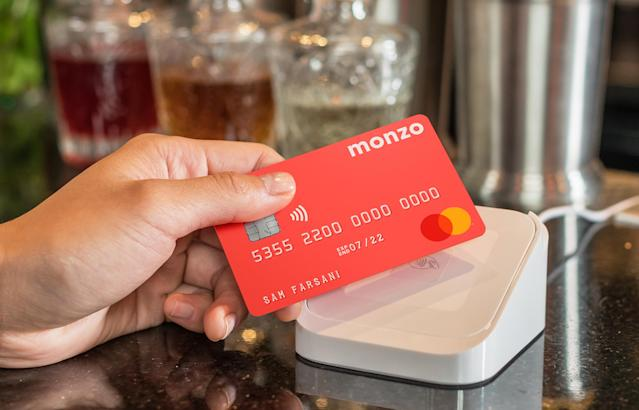 The app-only bank was valued at £1bn in June. Photo: Monzo