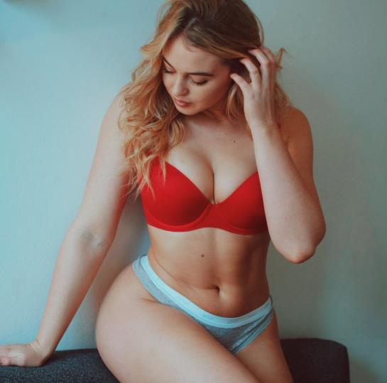 Iskra Lawrence says she used to only eat 800 calories a day for this sad reason