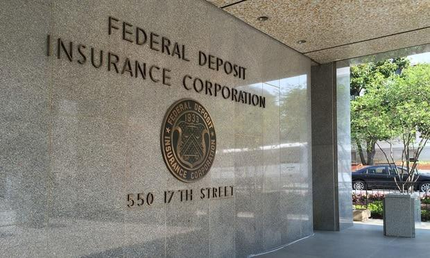 FDIC Taps Fifth Third Bank In-House Lawyer to Serve as ...