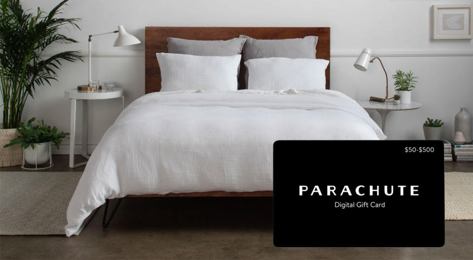 Luxe bedding is so on point for winter 2020. (Photo: Parachute)