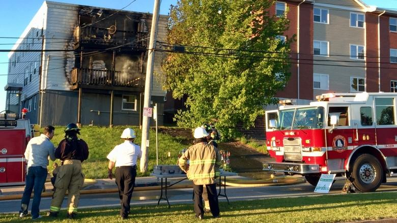 Fire puts 19 residents out of Halifax apartment complex