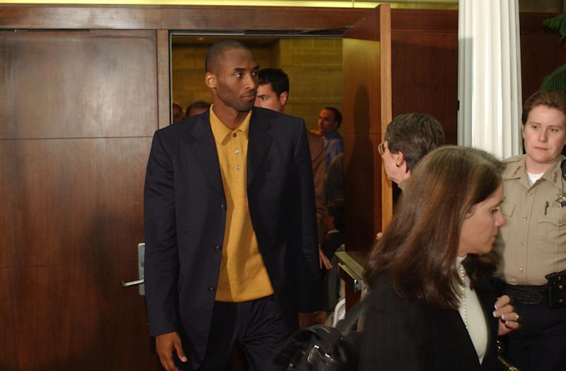Kobe Arrives For Hearing On Sexual Assault Charges
