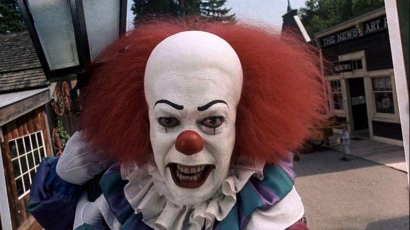 There are reports the sightings are a publicity stunt for Stephen King's It movie, which is to be released in 2017.  Photo: Supplied