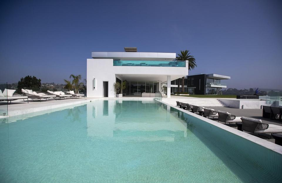 A view of a pool at The One.