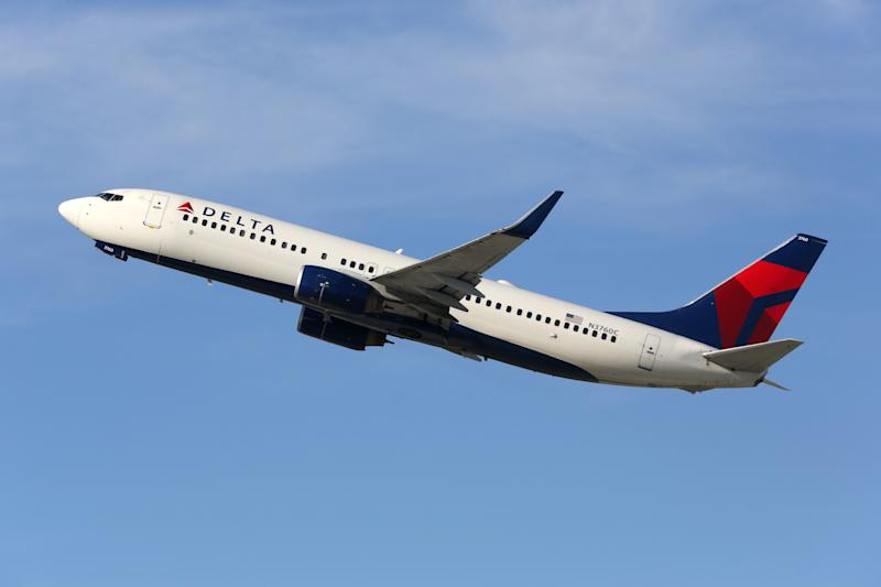A passenger claims that a man overdosed on a Delta Air lines flight and could not be recovered because the plane didn't have Narcan on board (Credit: Getty Images)