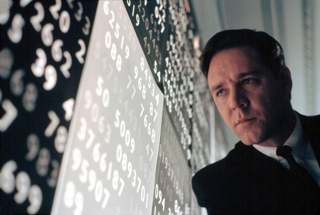 "<a href=""http://movies.yahoo.com/movie/1807426893/info"">A Beautiful Mind</a> (2001): Crowe's transformation into tortured math genius John Forbes Nash Jr. is stunning -- reminiscent of the one he'd pulled off two years earlier in ""The Insider,"" but even more effective because Nash's story is so much more personal. It's almost too bad that he won the best-actor Oscar for ""Gladiator,"" because he deserved the award even more for his work here. Aging on screen over a period of nearly 50 years, Crowe turns Nash from a swaggering genius to a shaken shell of a man, and the disintegration is believable and compelling. Prior to ""Frost/Nixon,"" this was director Ron Howard's crowning achievement."