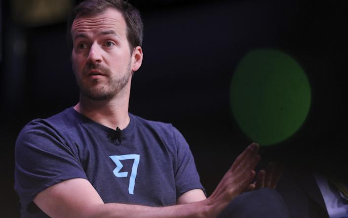 Taavet Hinrikus, co-founder and chairman of TransferWise in London in June 2019 - Simon Dawson/Bloomberg