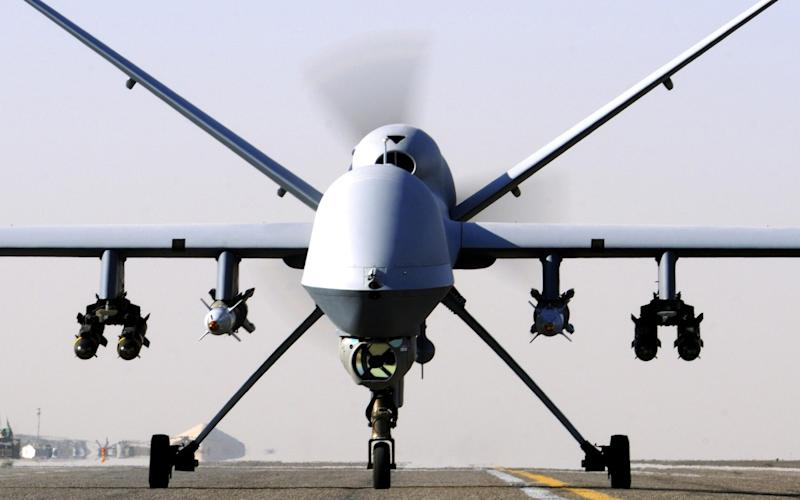 RAF Reapers were used in some of the airstrikes on Isil  - Ministry of Defence