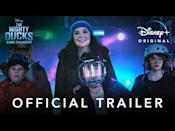 """<p>Whether you're a <em>Mighty Ducks</em> or <em>Gilmore Girls</em> fan, you're sure to have a home team to root for in this spin-off series starring Emilio Estevez and Lauren Graham. The heartwarming family show is set in modern-day Minnesota, where the hockey scene is highly competitive. When a young boy is cut from the ducks, his mother founds a band of players whose lack of skill is compensated for by passion.</p><p><a class=""""link rapid-noclick-resp"""" href=""""https://go.redirectingat.com?id=74968X1596630&url=https%3A%2F%2Fwww.disneyplus.com%2Fseries%2Fthe-mighty-ducks-game-changers%2F2j1XKhp6YtQo&sref=https%3A%2F%2Fwww.redbookmag.com%2Flife%2Fg37132419%2Fbest-disney-plus-shows%2F"""" rel=""""nofollow noopener"""" target=""""_blank"""" data-ylk=""""slk:Watch Now"""">Watch Now</a></p><p><a href=""""https://www.youtube.com/watch?v=OD3UhmRy4lg"""" rel=""""nofollow noopener"""" target=""""_blank"""" data-ylk=""""slk:See the original post on Youtube"""" class=""""link rapid-noclick-resp"""">See the original post on Youtube</a></p>"""