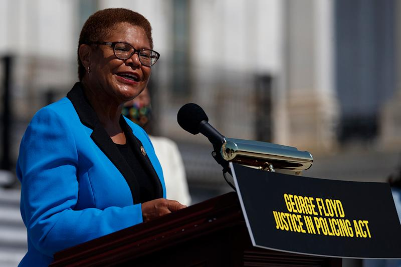 Rep. Karen Bass vows to persist on police reform: 'We have to keep pushing'