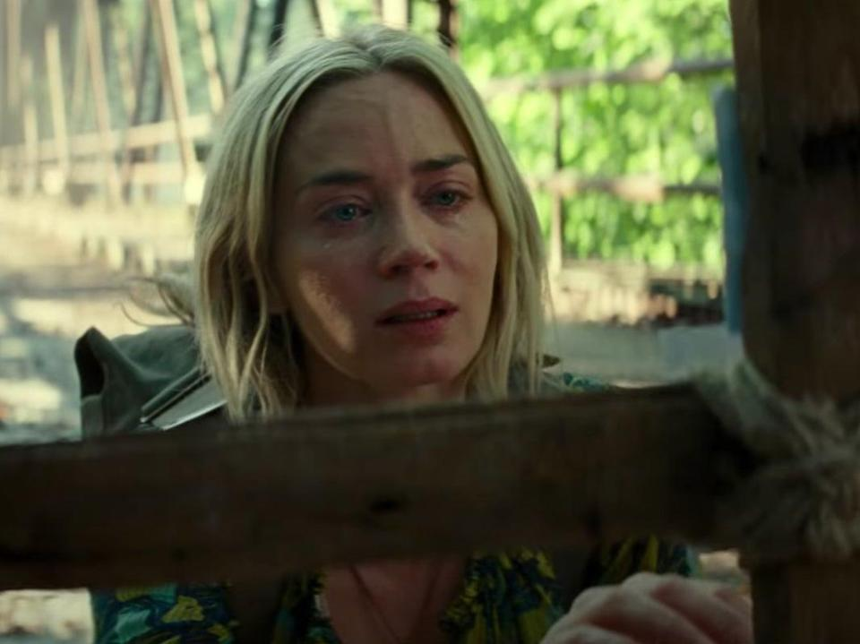 Emily Blunt in A Quiet Place Part IIYouTube/Paramount Pictures