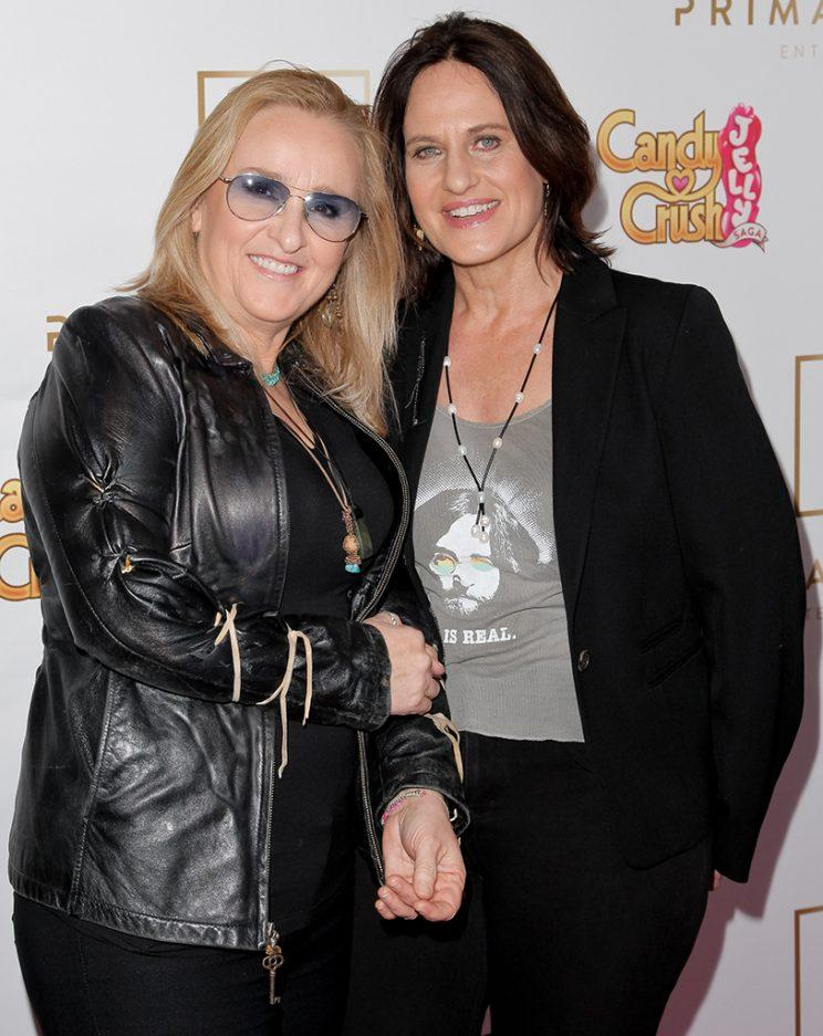 Melissa Etheridge and Linda Wallem have been married since 2014.