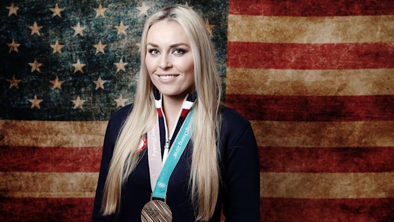 2018 Winter Olympics: Lindsey Vonn Scatters Grandfather's Ashes Near Downhill Course