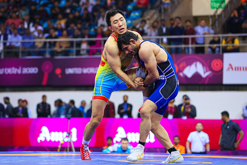 Jitender Kumar Settles for Silver as India Complete Best-ever Asian Wrestling Championships Campaign