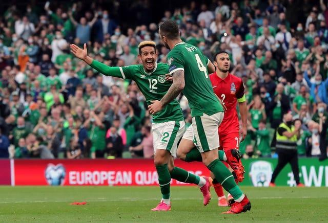 Shane Duffy rescued a point for the Irish