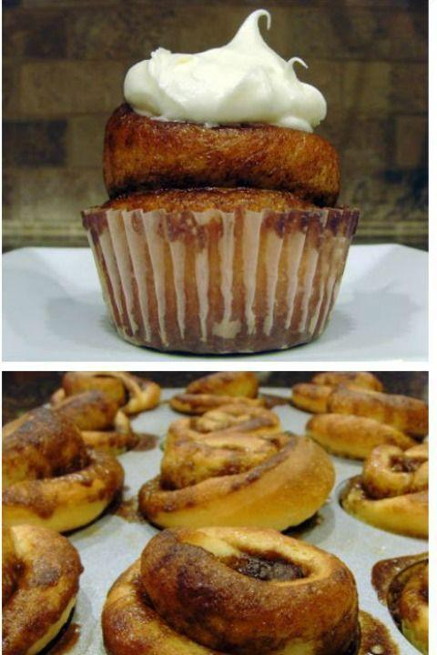 """<p>Cupcakes for breakfast? It makes perfect sense when you serve up these treats.</p><p><strong><a href=""""http://foodfolksandfun.net/2011/01/cinnamon-roll-cupcakes/"""" rel=""""nofollow noopener"""" target=""""_blank"""" data-ylk=""""slk:Get the recipe at Food, Folks and Fun."""" class=""""link rapid-noclick-resp"""">Get the recipe at Food, Folks and Fun.</a></strong></p>"""