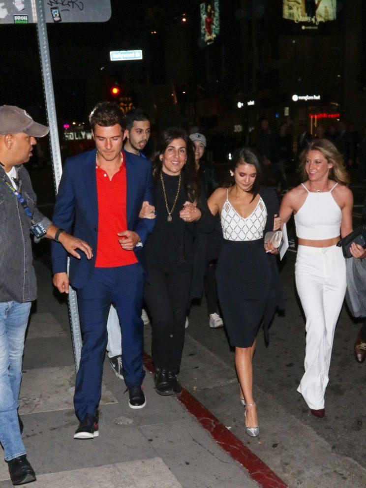 Orlando and Nina both attended the premiere of