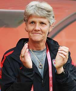 USA coach Pia Sundhage has been patient so far, but a loss against Sweden might change that