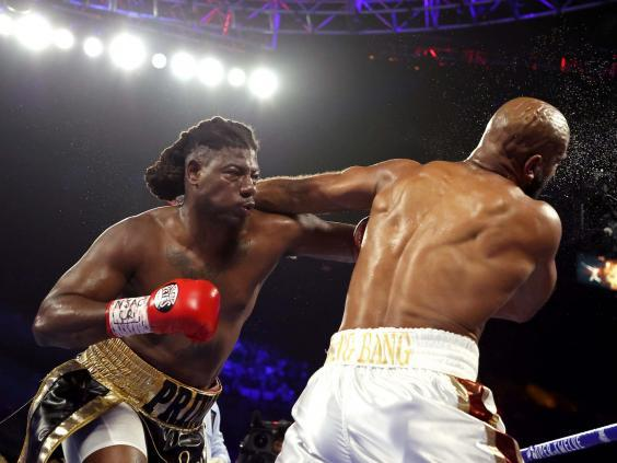 Charles Martin (left) featured on the undercard of the Fury vs Wilder bout (Getty)