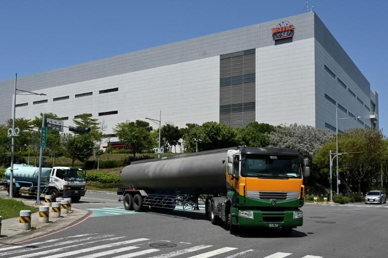 TSMC is among chipmakers who have started trucking in water to its foundries and has played down concerns that the drought will further hit production