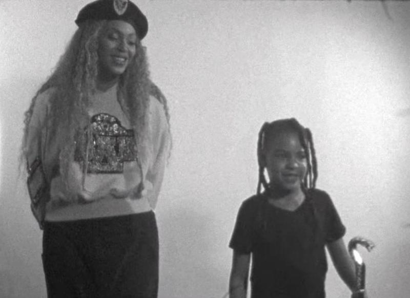 Beyoncé and daughter Blue Ivy | Netflix